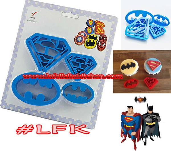 CK506 ZDBG13833 BATMAN & SUPERMAN SET