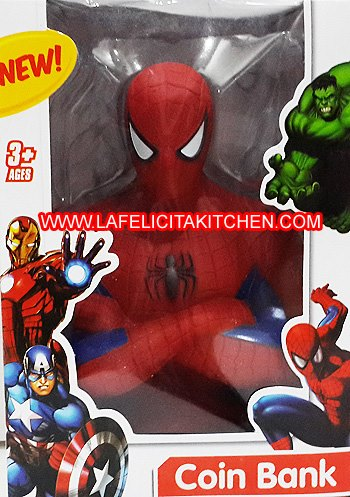 TK690 SPIDERMAN COIN BANK