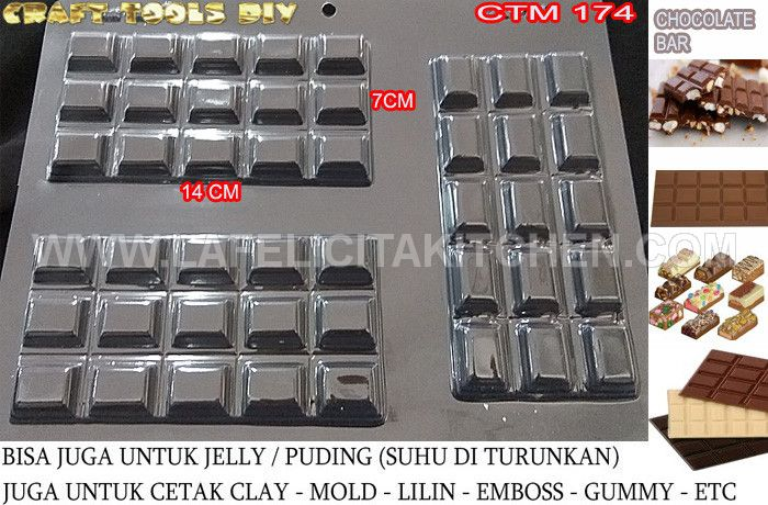 CTM173 CHOCOLATE BAR PERSEGI