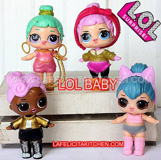 TK LOL BABY GOLD PINK CUTE