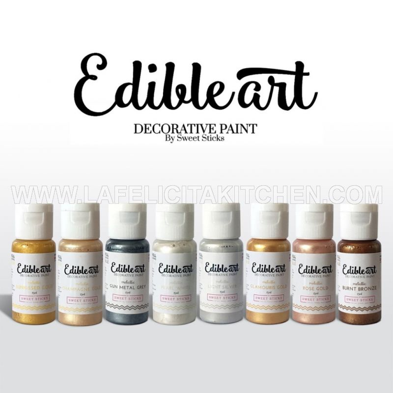 EA HONEY GOLD Edible Art Paint Metallic