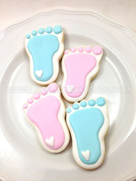 CK KAKI BABY FOOT PRINT SET