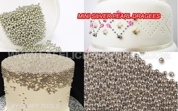 FI  MINI SILVER PEARL DRAGEES 30 GR SPRINKLE