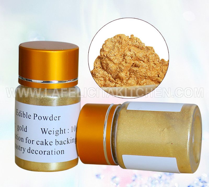 FI EP EDIBLE LUSTER DUST GOLD POWDER 10G