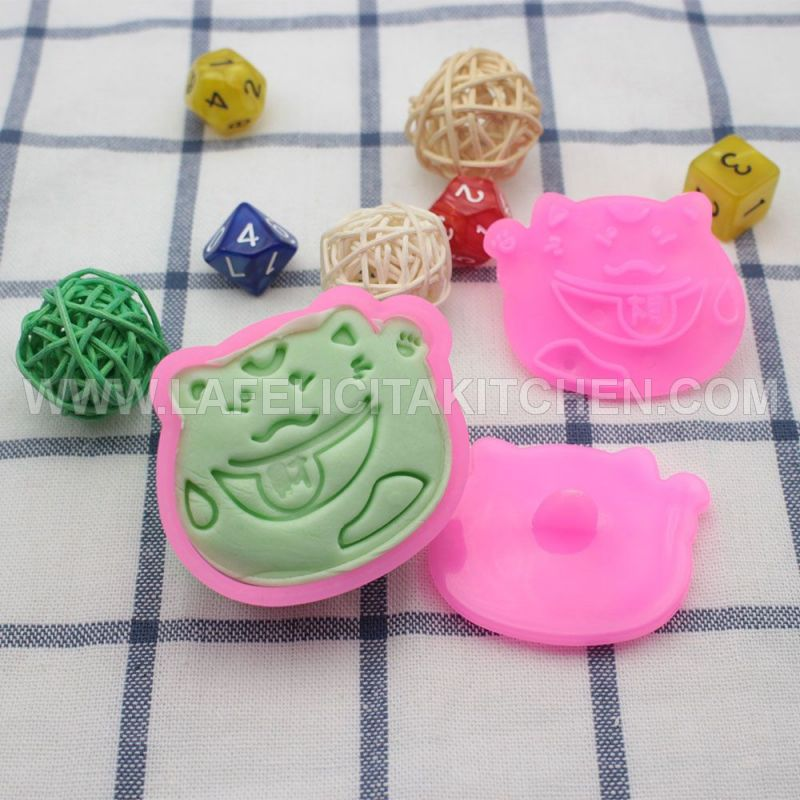 CK JAPAN LUCKY CAT CUT EMBOSS SET