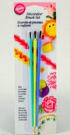 WL084 WILTON DECORATING BRUSH SET 3 PCS
