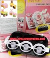 LY308 ZD2259 2-TONE ROUND CUPCAKE PAN SET