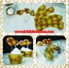 WR005 BURUNG BATIK CUPCAKE WRAPPER SET 10PC