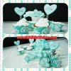 WR006 I DO HATI CUPCAKE WRAPPER SET 10PC