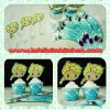 WR007 ELSA CUPCAKE WRAPPER SET 10PC