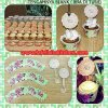 WR010 BUNGA CUPCAKE WRAPPER SET 10PC