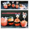 WR011 MICKEY & MINNIE CUPCAKE WRAPPER SET 10PC