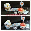 WR015 DORAEMON CUPCAKE WRAPPER SET 10PC