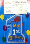 TK454 LILIN MY 1ST BDAY - BLUE 8246