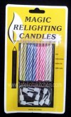TK440 MAGIC RELIGHTING CANDLE HB10007