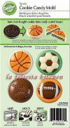 WL2115-1353 CANDY MOLD SPORTS COOKIE