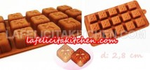 CCS128 SILICONE CHOCOLATE MOULD GIFT BOX