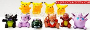 TK737 PIKACHU 4 & FRIENDS SET ISI 10