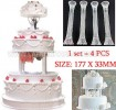 BT NO.42-7 CAKE PILLAR  SET
