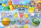 TK POKEMON SET A YLW GRN