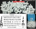CK415 JEM ALPHABET SET 64 PCS