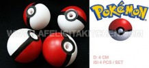 TK BALL POKEMON 4PCS/SET
