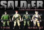 TK SOLDIER 4 MILITARY MIX
