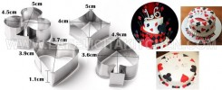 CK POKER CARD SS COOKIE CUTTER