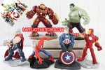 TK AVENGER SUPER +BUSTER 6 PCS/SET