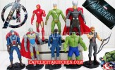 TK AVENGER MIX +FLASH 8 PCS/SET