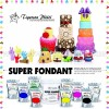 FI 1 KG BLACK  BERRIES SUPER FONDANT TIGERSON