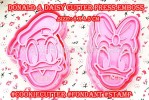CK DONALD & DAISY HEAD CUTTER PRESS
