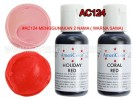 AC124 /143 CORAL-HOLIDAY RED SOFT GEL PASTE 21 GR