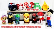 TK PAW PATROW W/CO +CAR + DOG 12PCS/SET