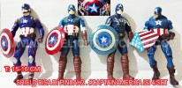 TK CAPTAIN AMERICA 4 COSTUME 4PCS/SET 16CM
