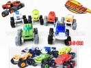 TK BLAZE MONSTER MACHINE SET 6 PCS. T: 5 CM