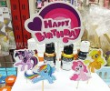 TK TUSUK LITTLE PONY HAPPY BIRTHDAY