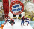 TK TUSUK SPIDERMAN HAPPY BIRTHDAY