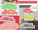 CK HAPPY BIRTHDAY CUTTER FONDANT