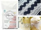 FI WHITE FLEXI-ICE MAGIC DECOR LACE 250G UK