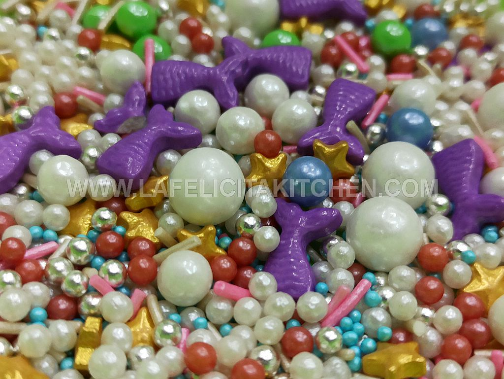 FI 30G SPRINKLE RAINBOW MIX SOFT MERMAID