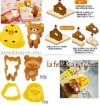 BN314 BREAD MOULD RILAKKUMA 2 PCS 8975