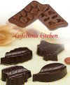 CCS101 SILICONE CHOCOLATE MOULD NATURE- ZD05