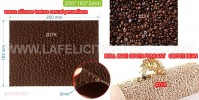 BT COFFEE BEAN FONDANT TEXTURE ART MAT