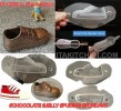CP 3D SHOE CHILD CHOCOLATE MOLD DIY